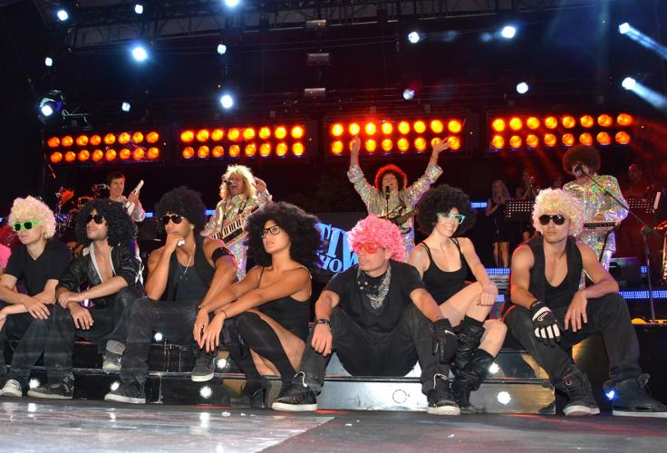 nuelle on stage @ Festivalshow Italy